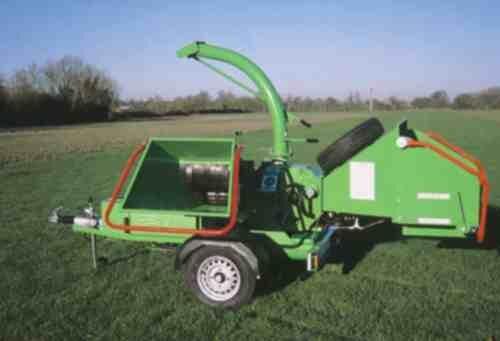 Štěpkovač GreenMech ECO-COMBI 150MT35 diesel