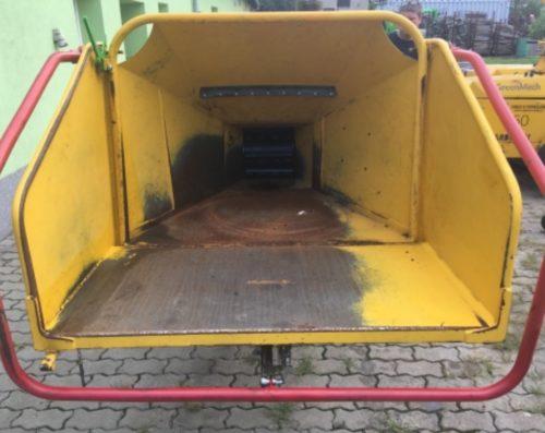Bazar GreenMech Safe-Trak - násypka